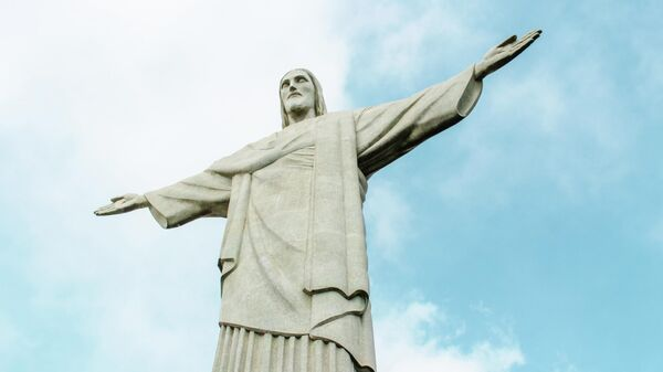 El Cristo Redentor, en Río de Janeiro, Brasil - Sputnik Mundo