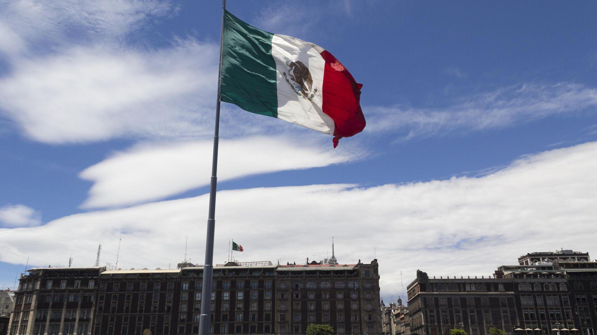 Bandera de los Estados Unidos Mexicanos - Sputnik Mundo, 1920, 27.09.2021