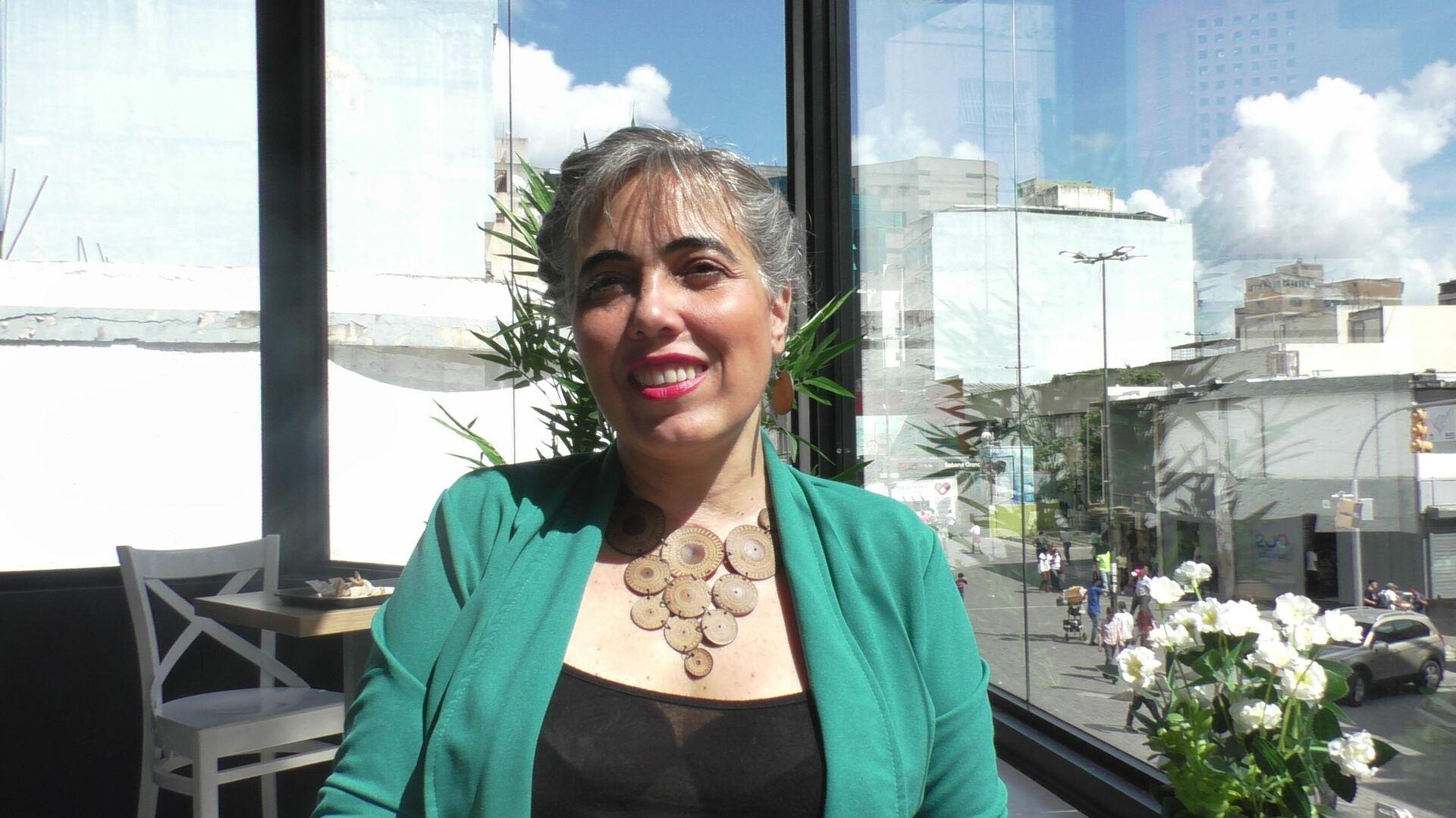 María Fernanda Barreto, investigadora y escritora colombo-venezolana - Sputnik Mundo, 1920, 23.09.2021