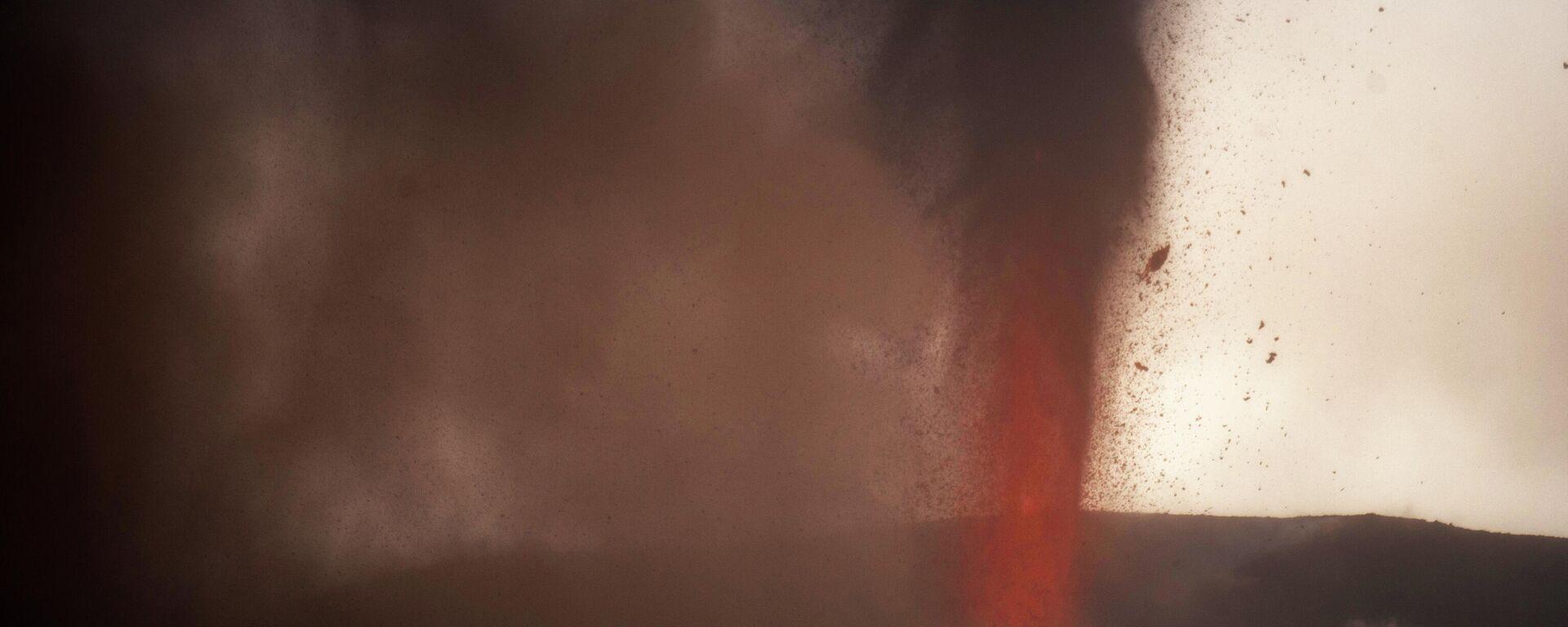 Erupción del volcán de Cumbre Vieja (La Palma) - Sputnik Mundo, 1920, 23.09.2021