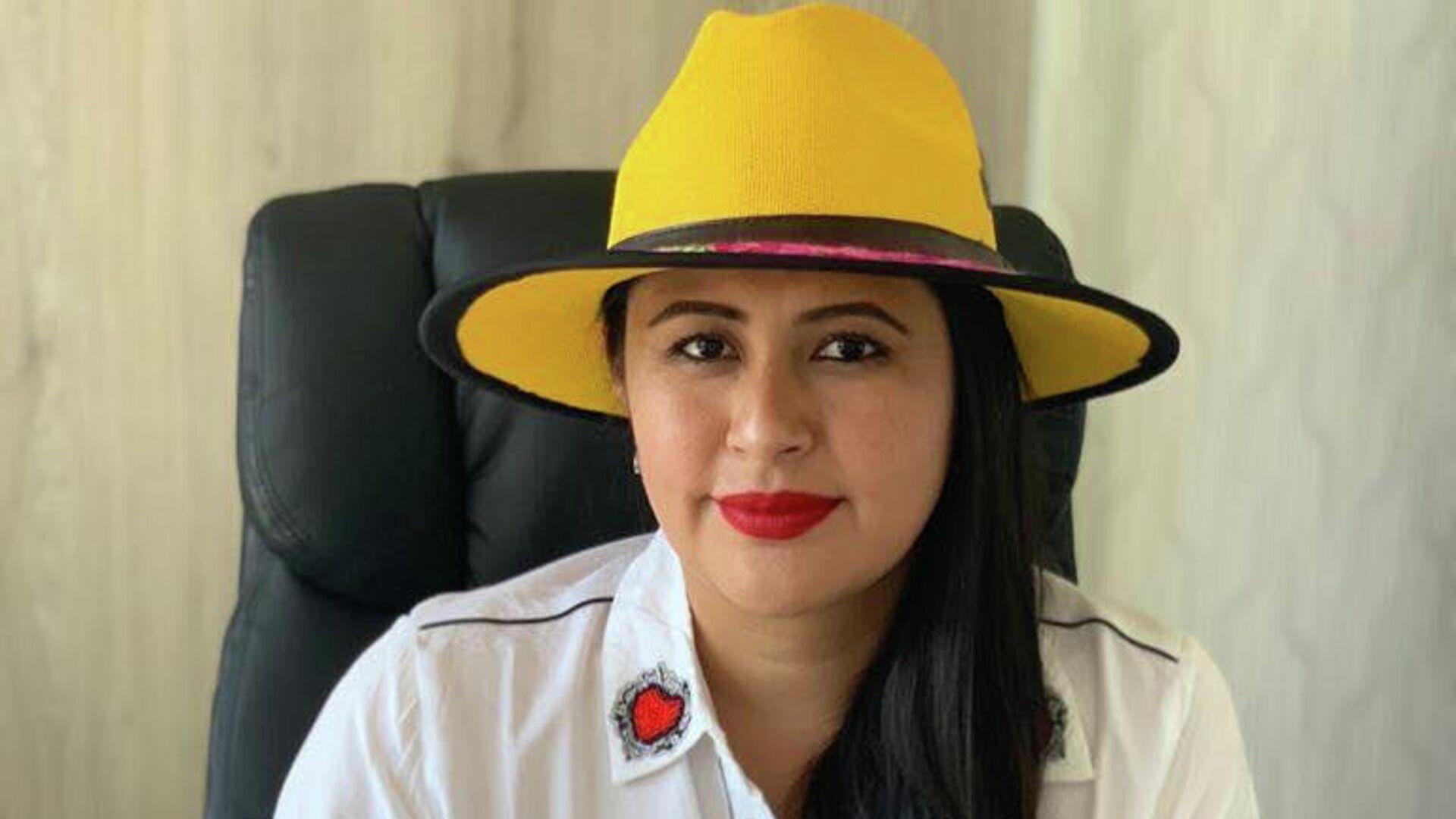 Sandra Nelly Cadena Santos, diputada suplente morenista en Puebla  - Sputnik Mundo, 1920, 23.09.2021