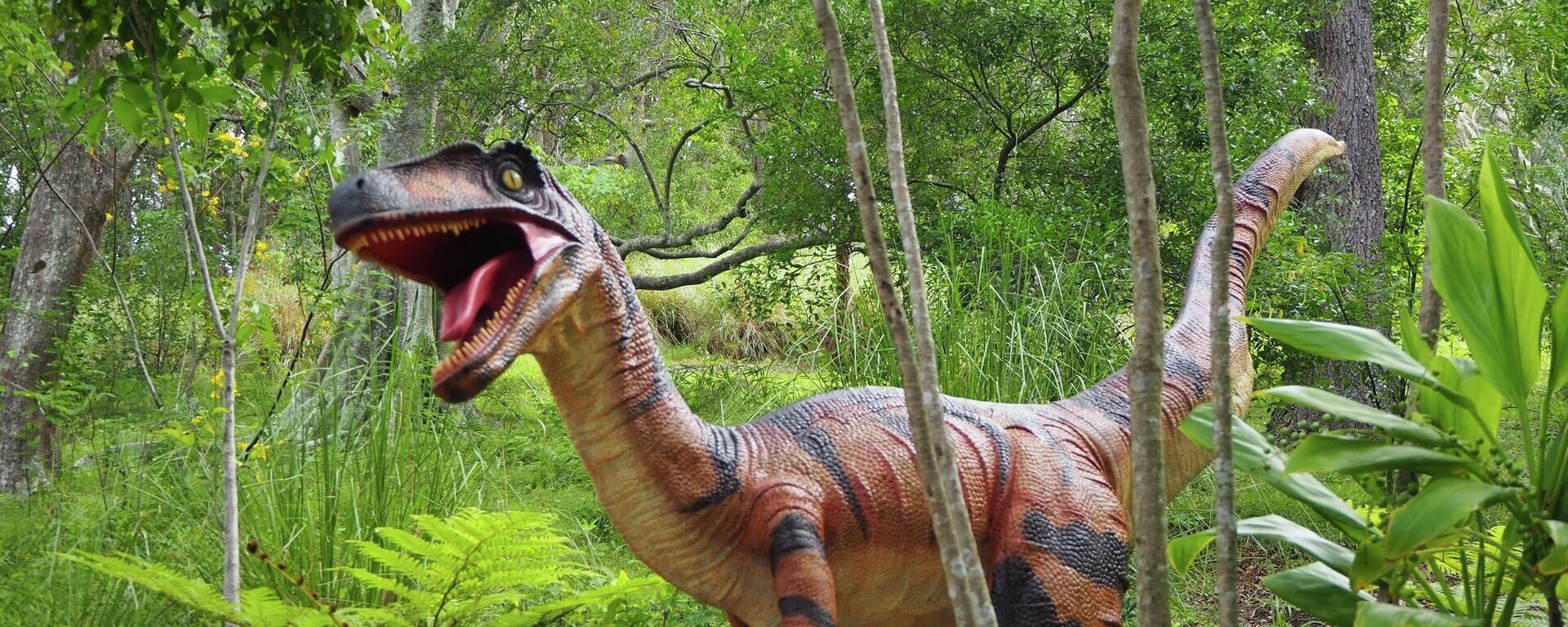 La estatua de un dinosaurio - Sputnik Mundo, 1920, 23.09.2021