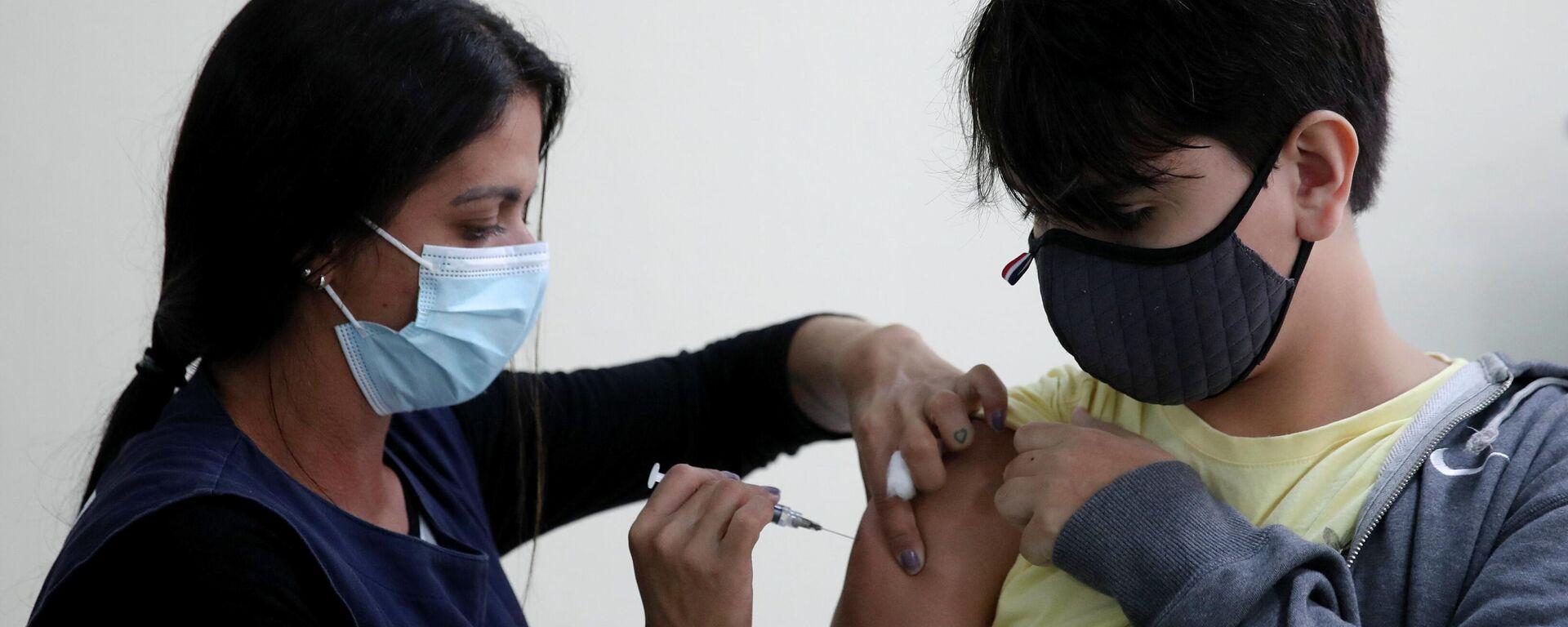 Vacunación de adolescentes en Brasil - Sputnik Mundo, 1920, 23.09.2021