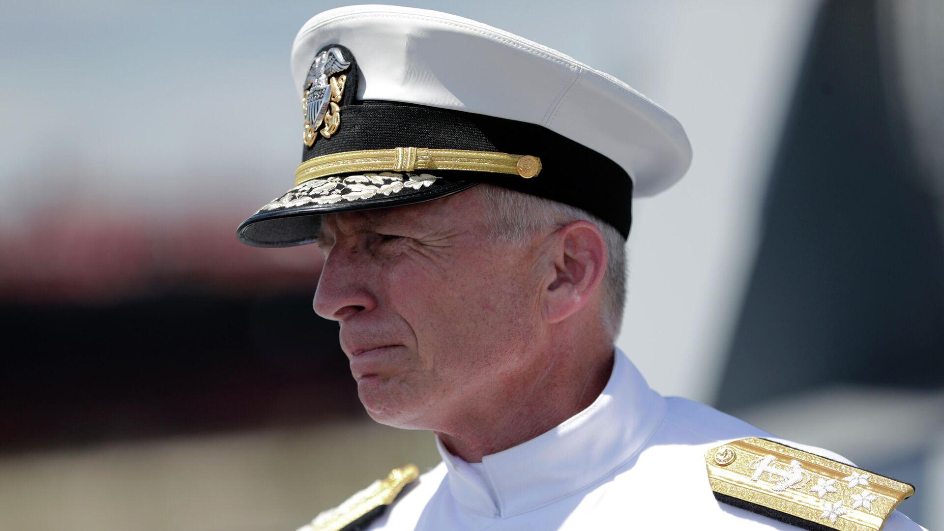 El almirante estadounidense Craig Faller, jefe del Comando Sur de las Fuerzas Armadas de EEUU - Sputnik Mundo, 1920, 23.09.2021