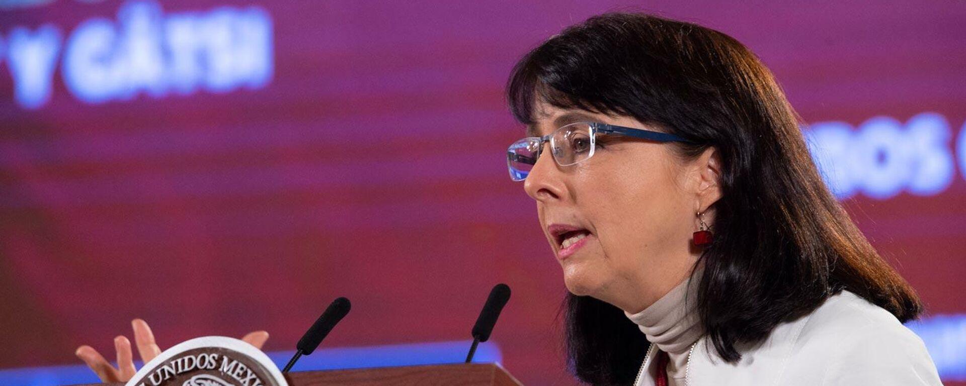 María Elena Álvarez-Buylla, directora de Conacyt - Sputnik Mundo, 1920, 23.09.2021