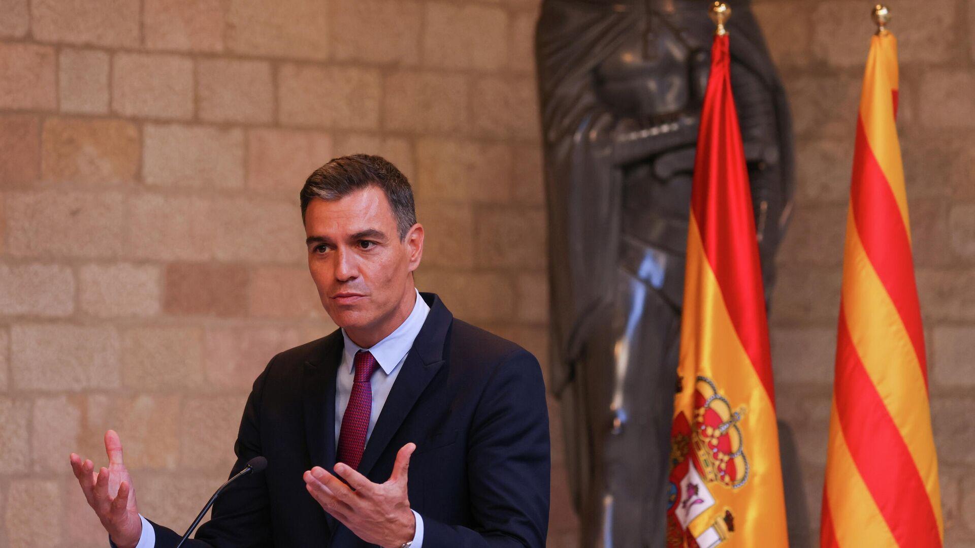 El presidente del Gobierno de España, Pedro Sánchez - Sputnik Mundo, 1920, 24.09.2021