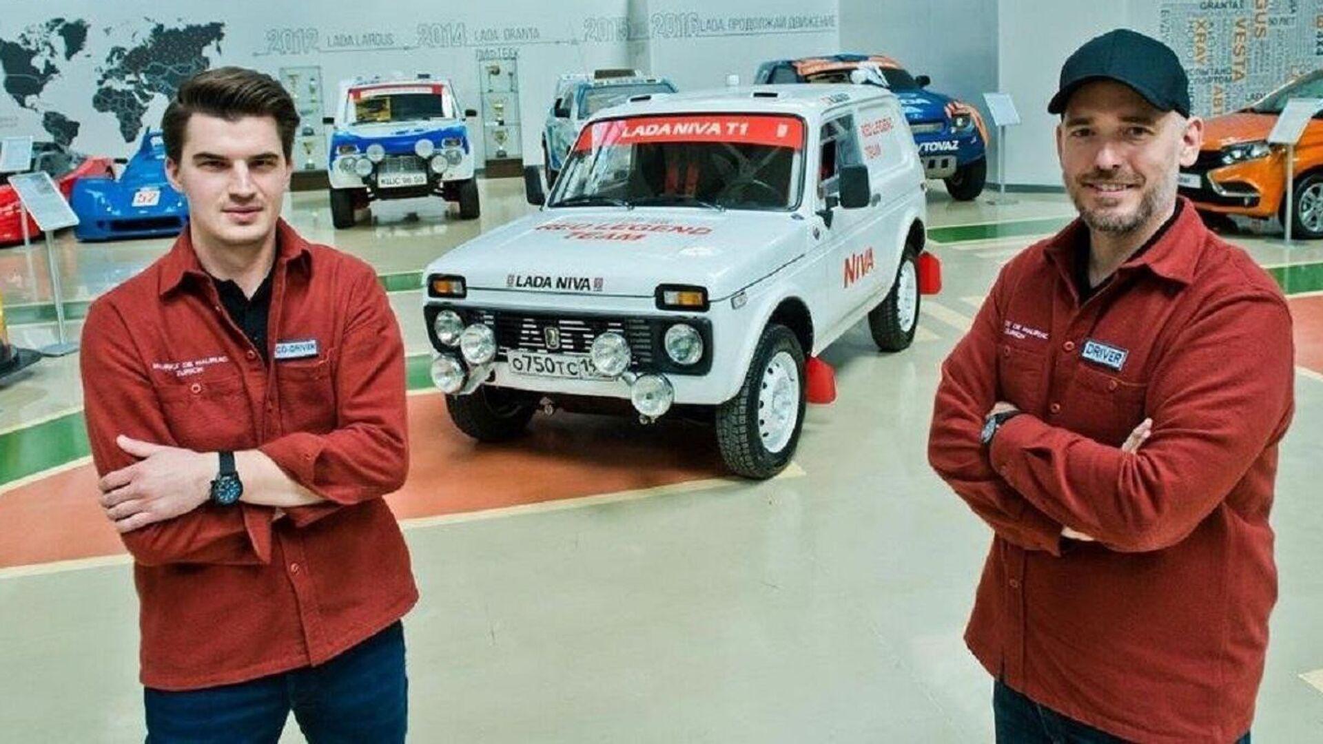 El Niva Red Legend Team modificado para el Rally Dakar 2022 - Sputnik Mundo, 1920, 24.09.2021
