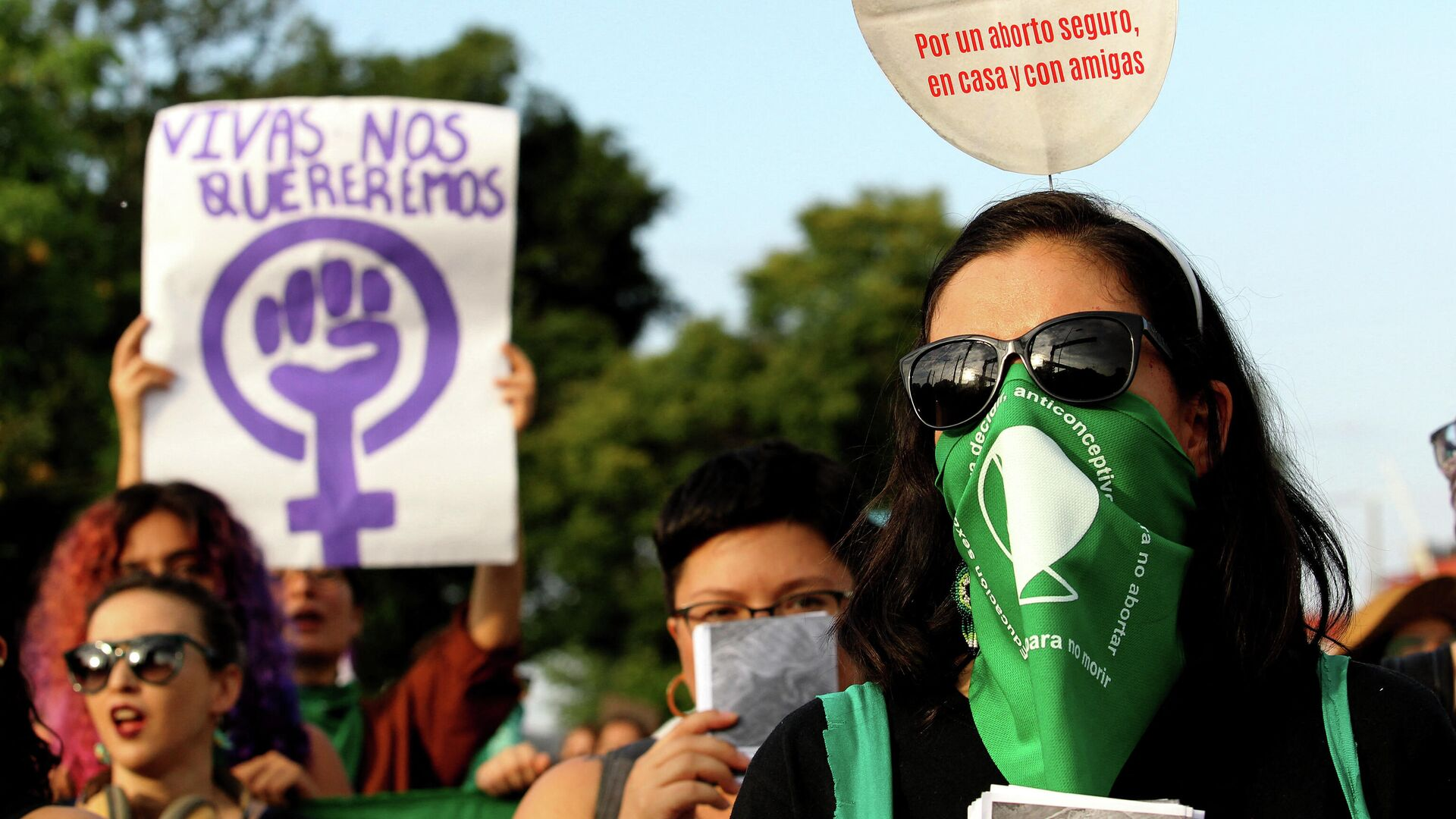Protesta en favor del aborto en México - Sputnik Mundo, 1920, 24.09.2021