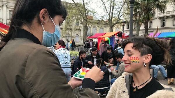 Marcha por la Diversidad en Montevideo 2021 - Sputnik Mundo
