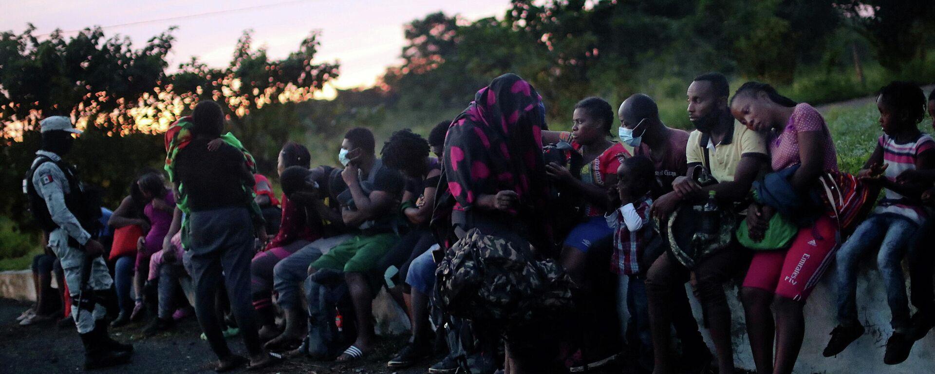 Migrantes haitianos - Sputnik Mundo, 1920, 25.09.2021