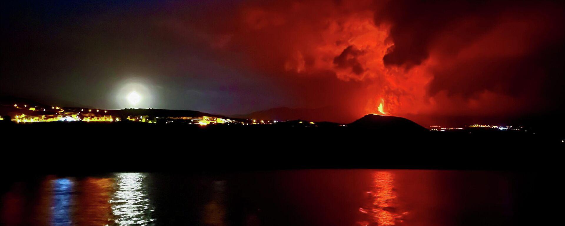 Erupción del volcán en La Palma - Sputnik Mundo, 1920, 25.09.2021