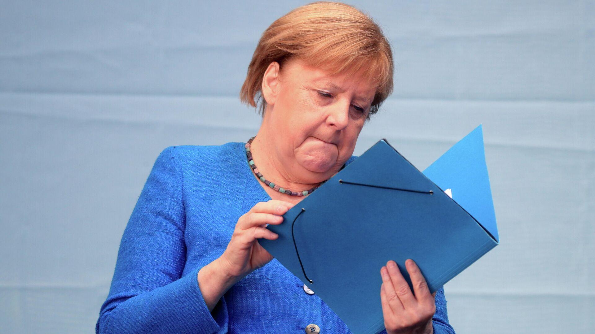 Angela Merkel, canciller de Alemania - Sputnik Mundo, 1920, 26.09.2021