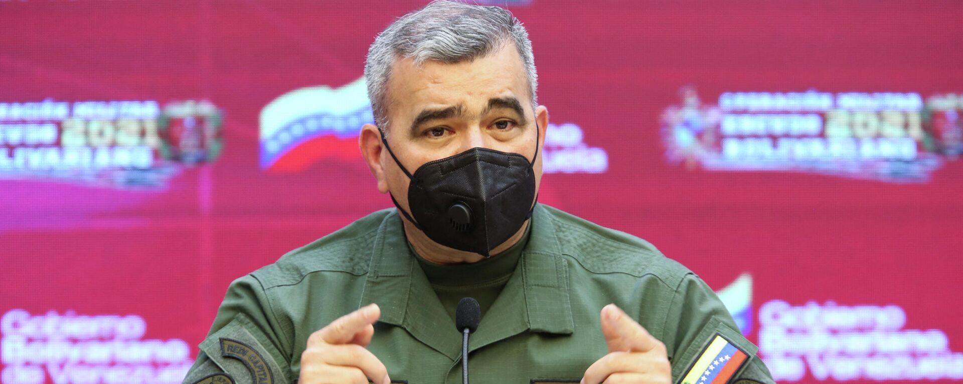 Vladimir Padrino López, ministro de Defensa de Venezuela - Sputnik Mundo, 1920, 27.09.2021