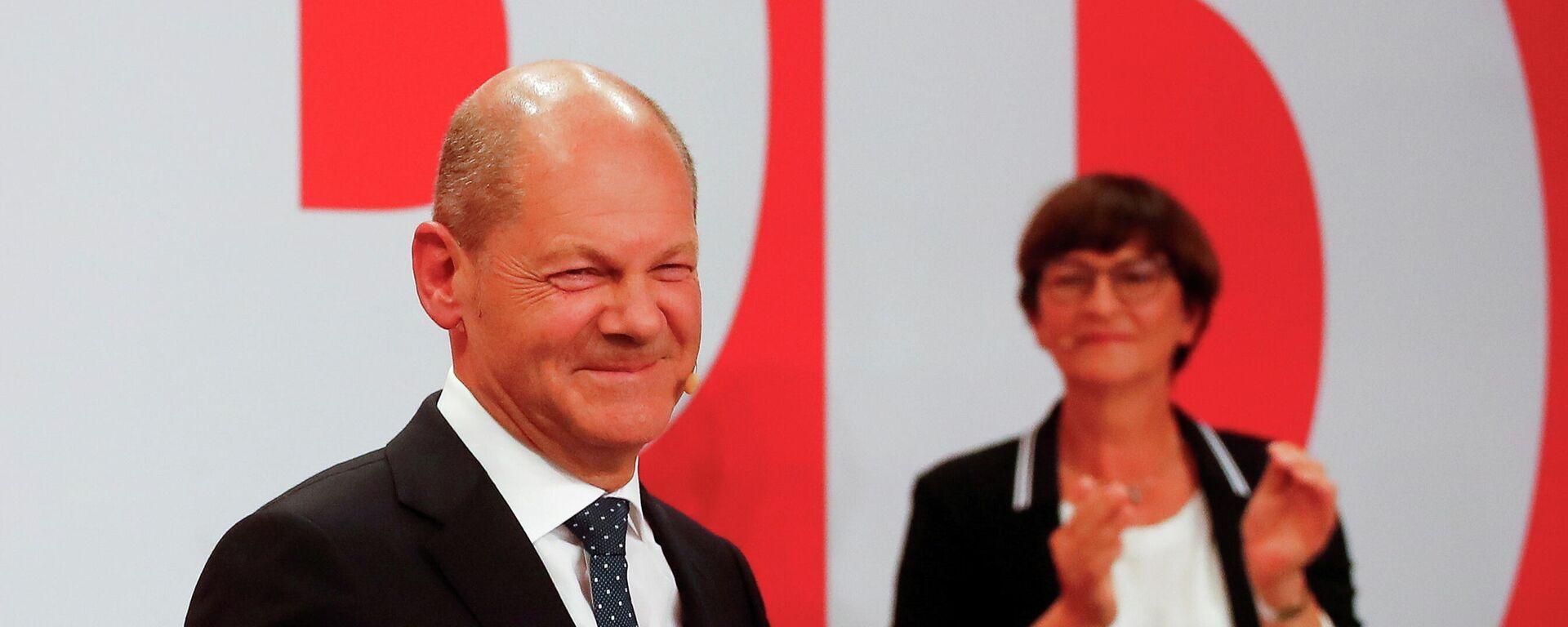 Olaf Scholz, el líder del Partido Socialdemócrata de Alemania - Sputnik Mundo, 1920, 27.09.2021