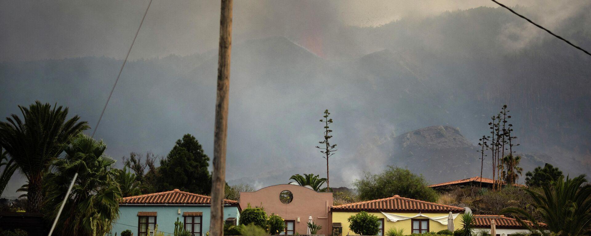 Todoque, una de las localidades más afectadas por la erupción volcánica de Cumbre Vieja (La Palma) - Sputnik Mundo, 1920, 27.09.2021