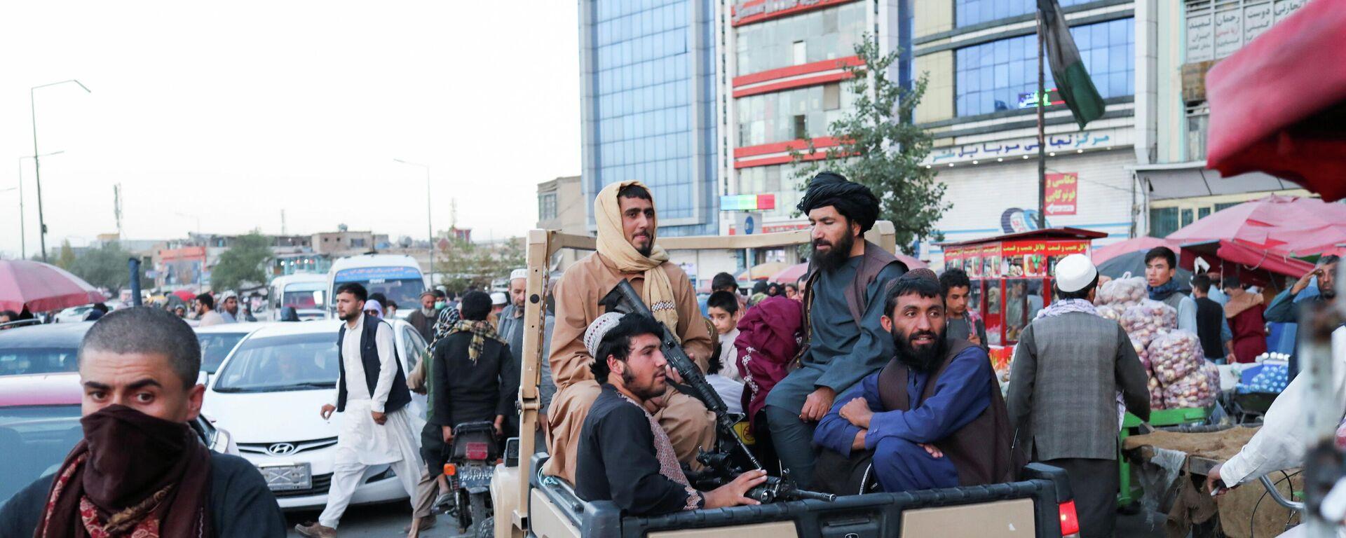 Soldados talibanes - Sputnik Mundo, 1920, 27.09.2021