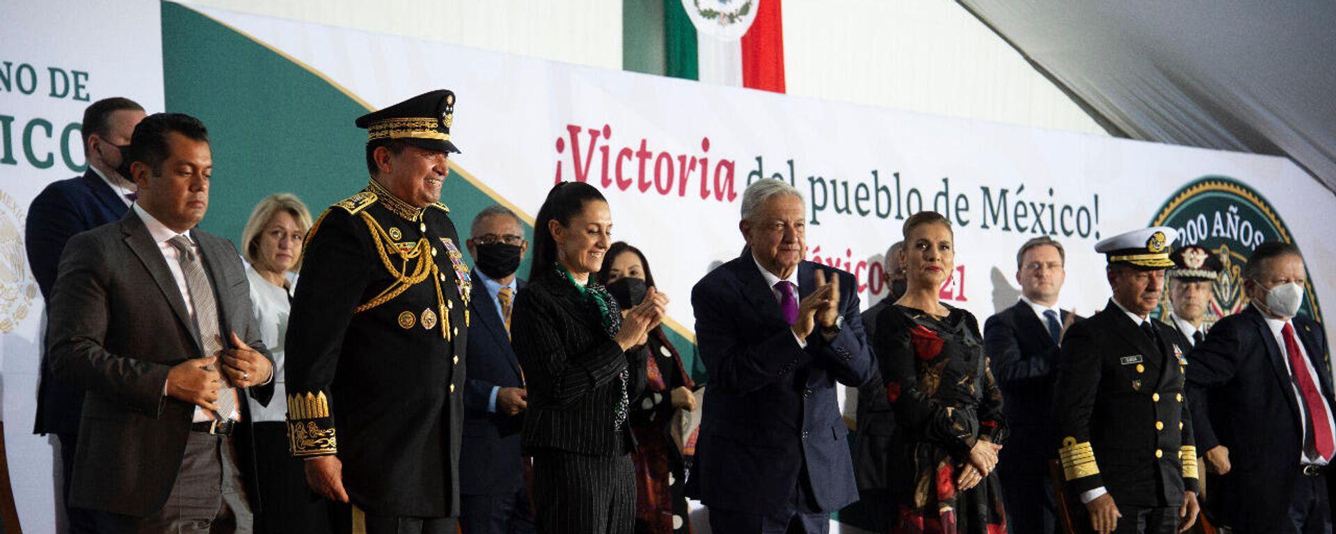 Ceremonia de conmemoración de los 200 años de la Independencia de México - Sputnik Mundo, 1920, 28.09.2021