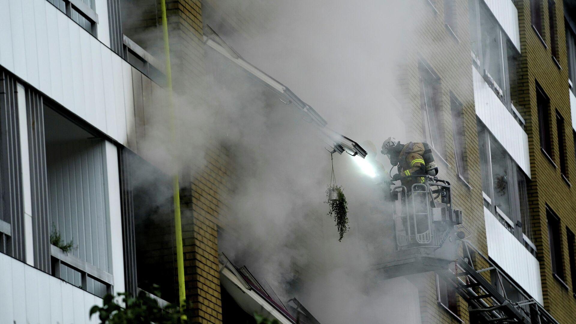 La explosión en un edificio de la ciudad sueca de Gotemburgo - Sputnik Mundo, 1920, 28.09.2021