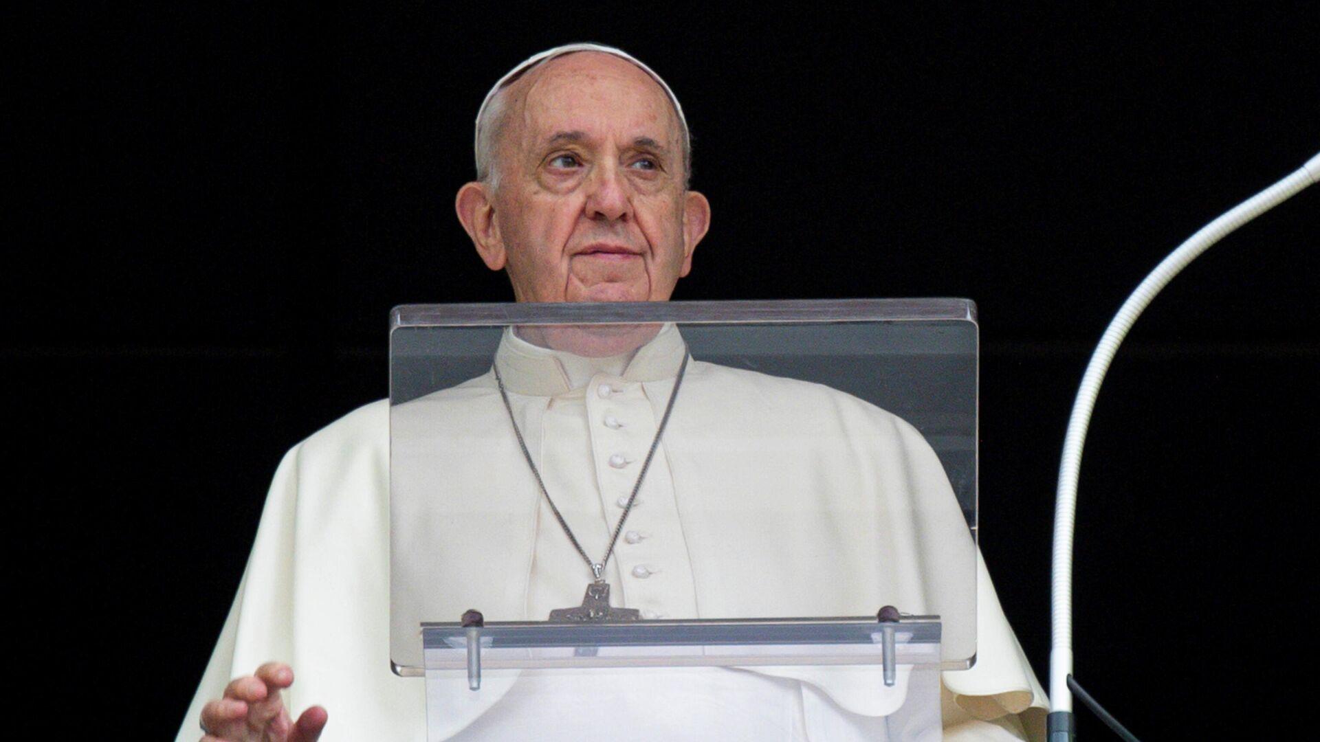 El papa Francisco - Sputnik Mundo, 1920, 13.10.2021