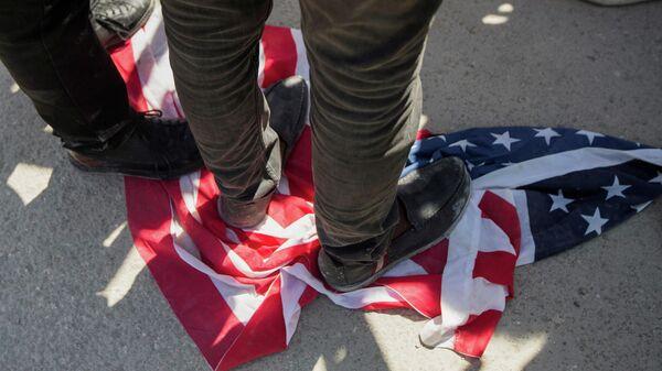 Protestas contra la deportación de haitianos de EEUU - Sputnik Mundo