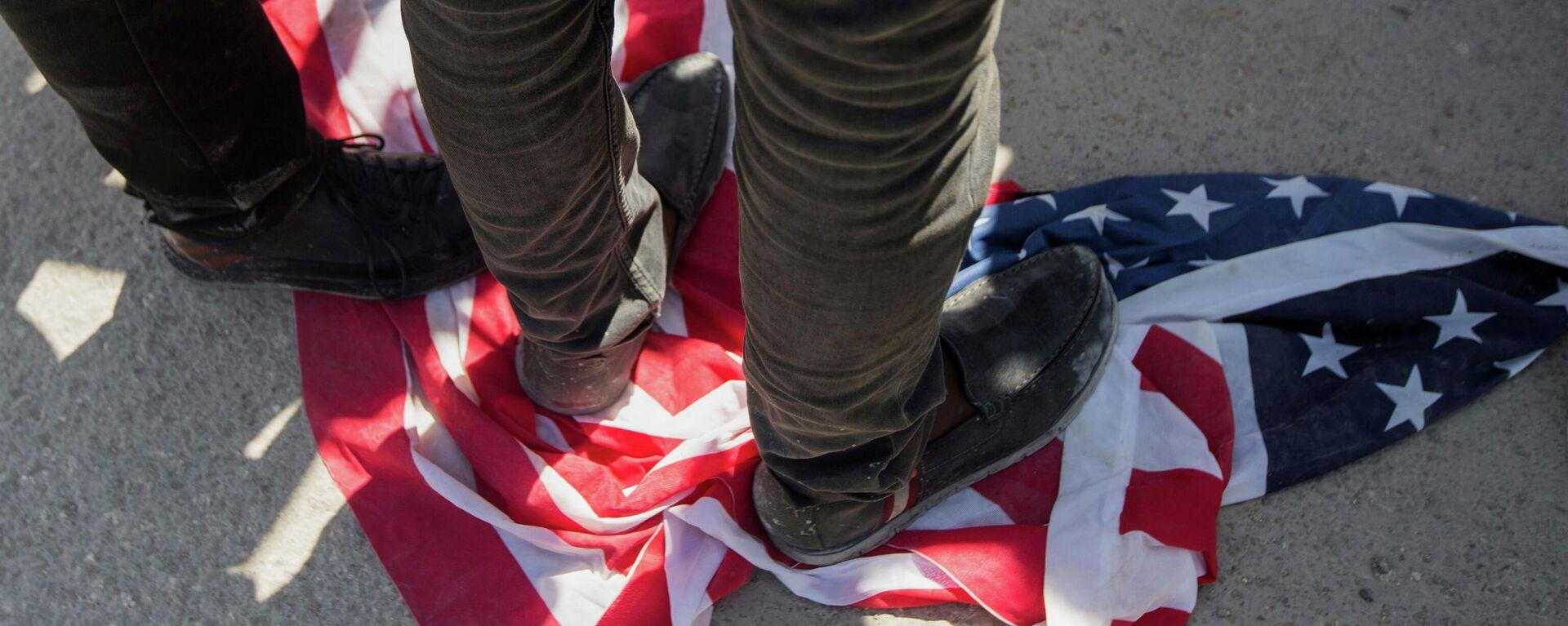 Protestas contra la deportación de haitianos de EEUU - Sputnik Mundo, 1920, 28.09.2021