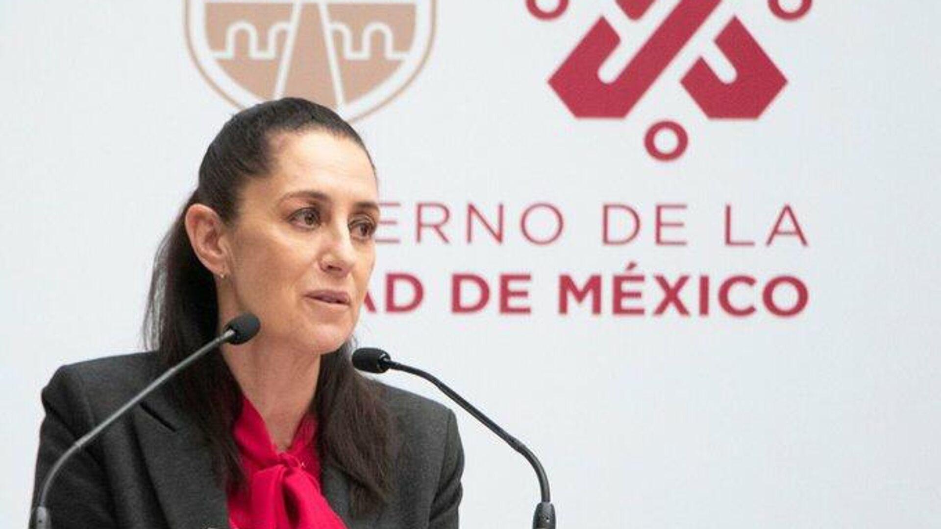 Claudia Sheinbaum, jefa de Gobierno de la Ciudad de México - Sputnik Mundo, 1920, 28.09.2021