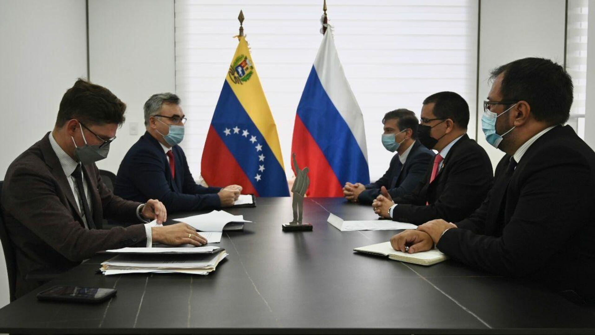 Debate inversiones entre Venezuela, Bielorrusia, Rusia y Turquía - Sputnik Mundo, 1920, 29.09.2021