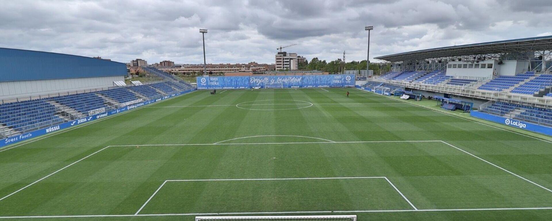 Un estadio municipal en la ciudad de Fuenlabrada, Comunidad de Madrid - Sputnik Mundo, 1920, 29.09.2021