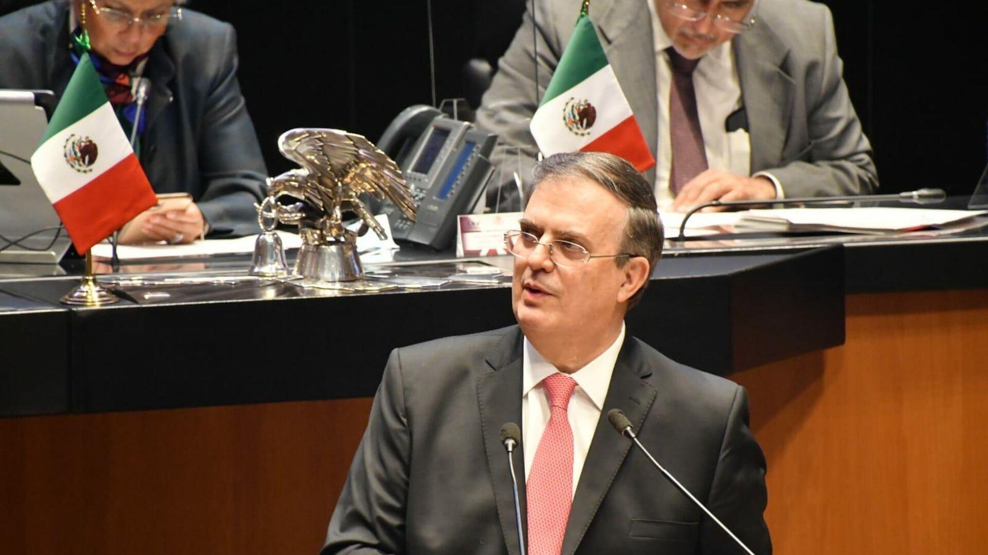 Marcelo Ebrard, canciller mexicano - Sputnik Mundo, 1920, 13.10.2021