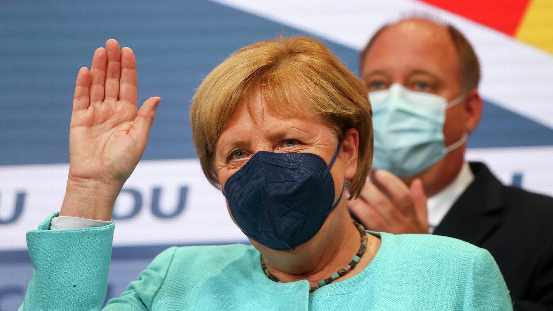 La canciller alemana, Angela Merkel - Sputnik Mundo, 1920, 29.09.2021