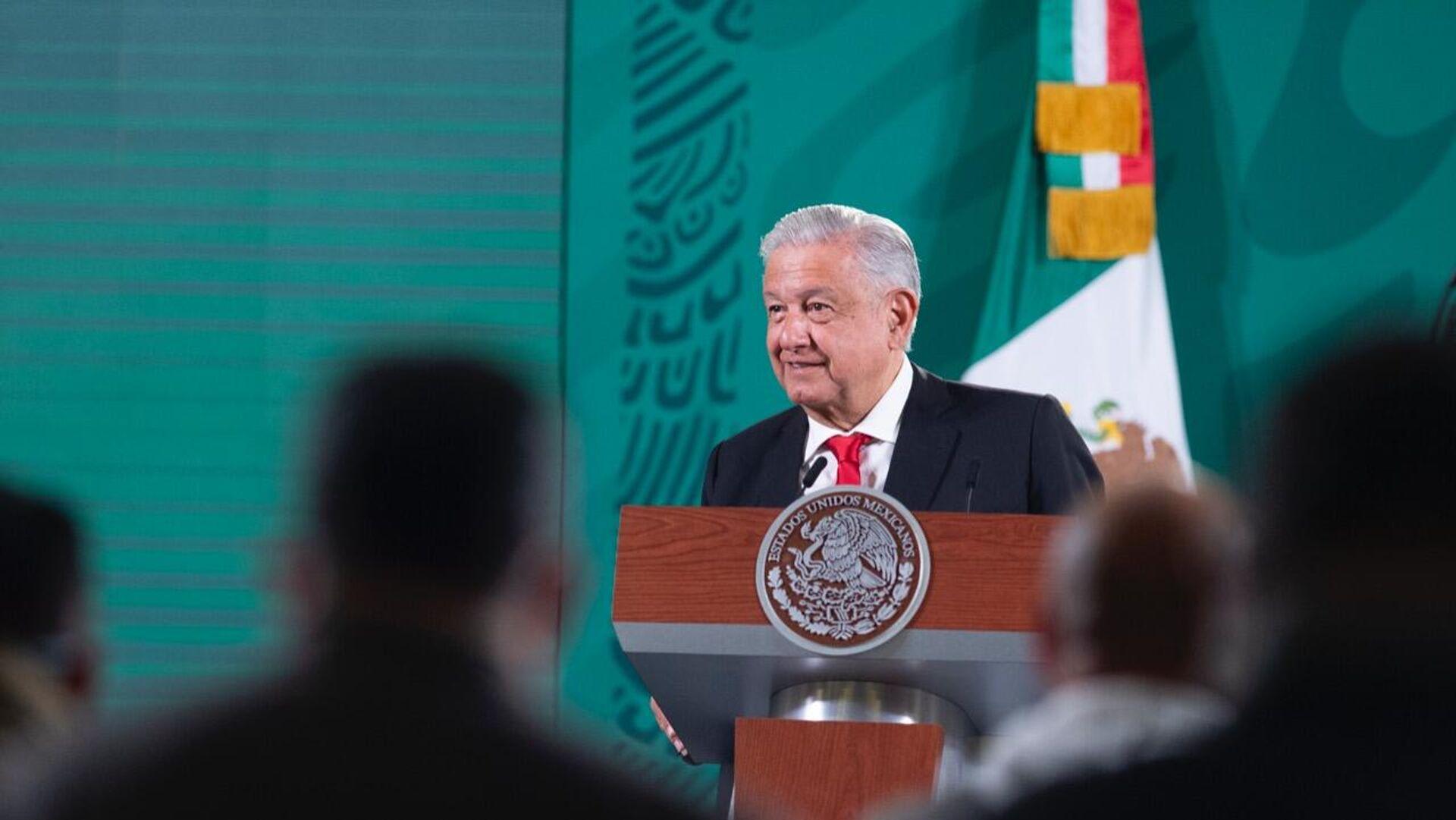 Andrés Manuel López Obrador, presidente de México - Sputnik Mundo, 1920, 29.09.2021