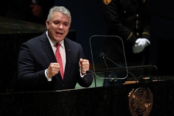 Ivan Duque, el presidente de Colombia - Sputnik Mundo