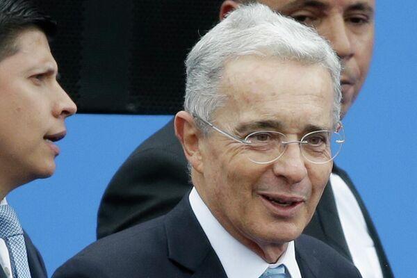 Álvaro Uribe, el expresidentede de Colombia  - Sputnik Mundo