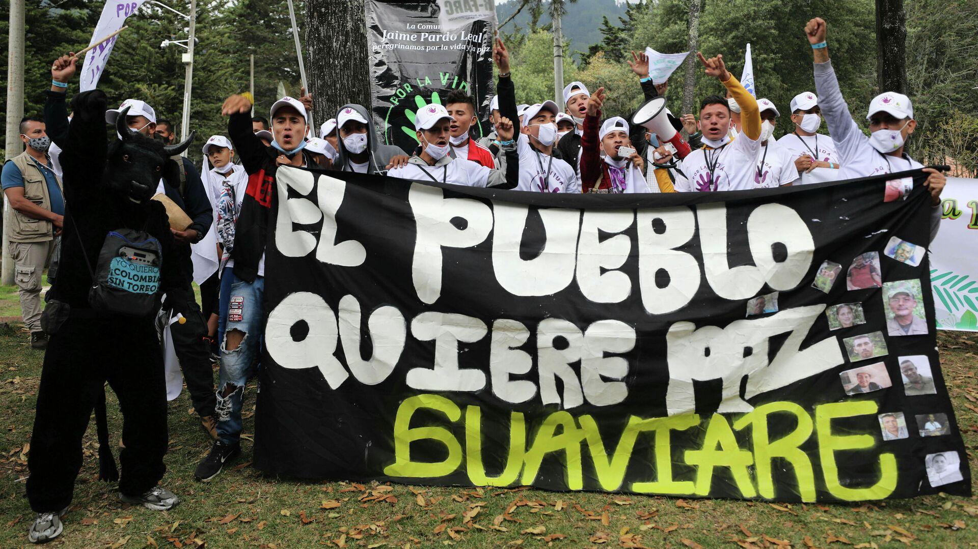 Ex-сombatientes de FARC - Sputnik Mundo, 1920, 29.09.2021