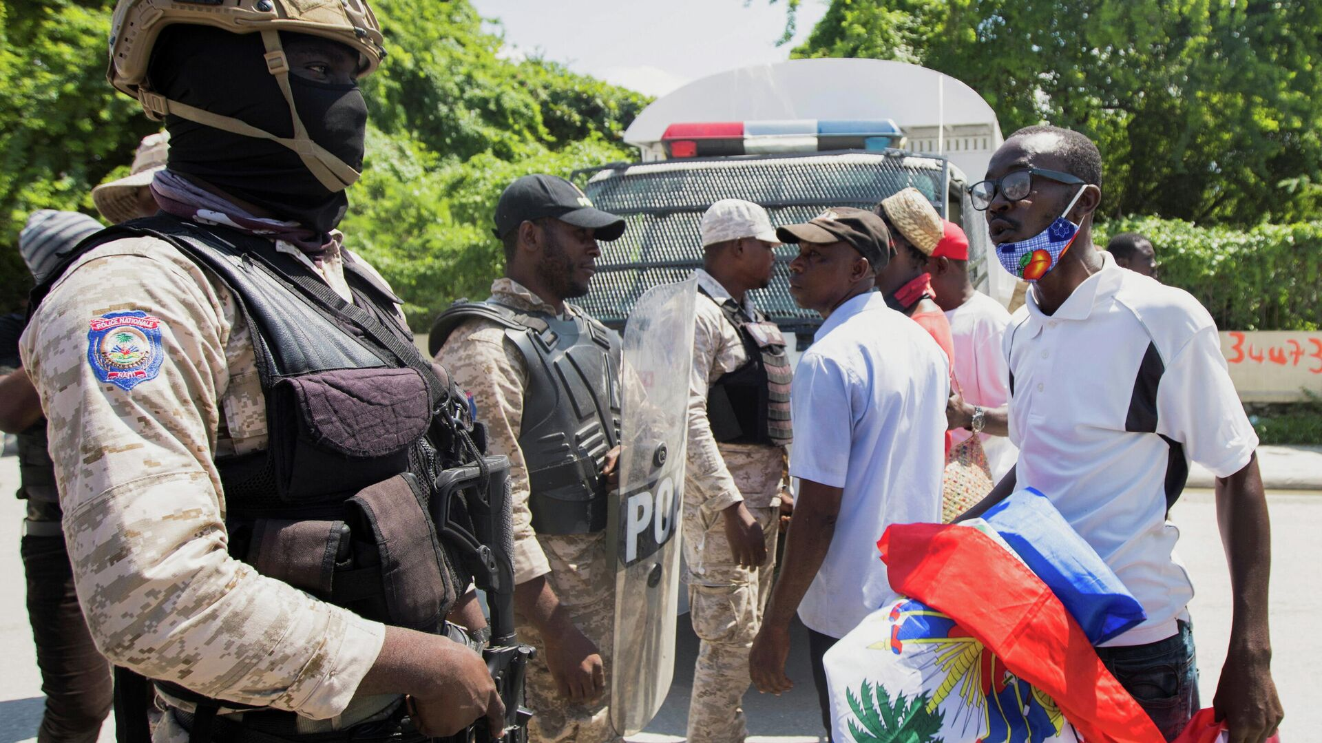 Protestas contra la deportación de haitianos de EEUU - Sputnik Mundo, 1920, 30.09.2021