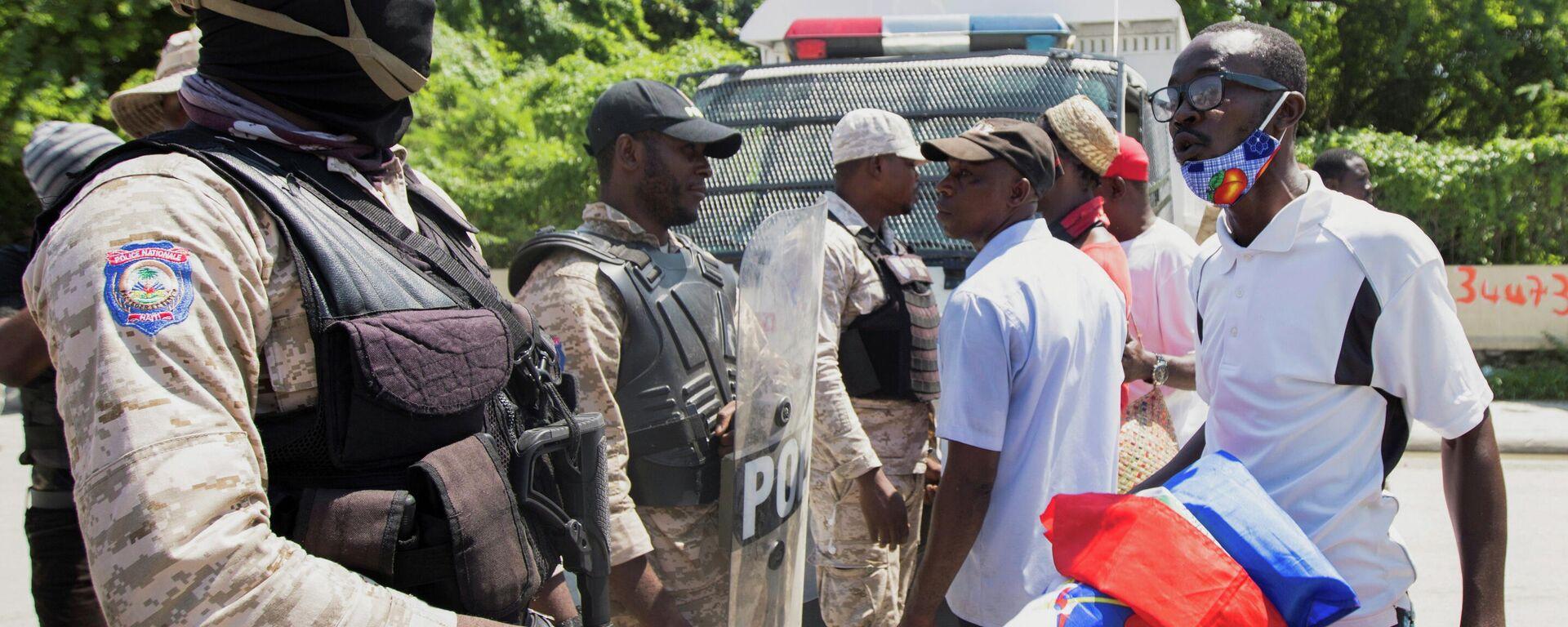 Protestas contra la deportación de haitianos de EEUU - Sputnik Mundo, 1920, 12.10.2021