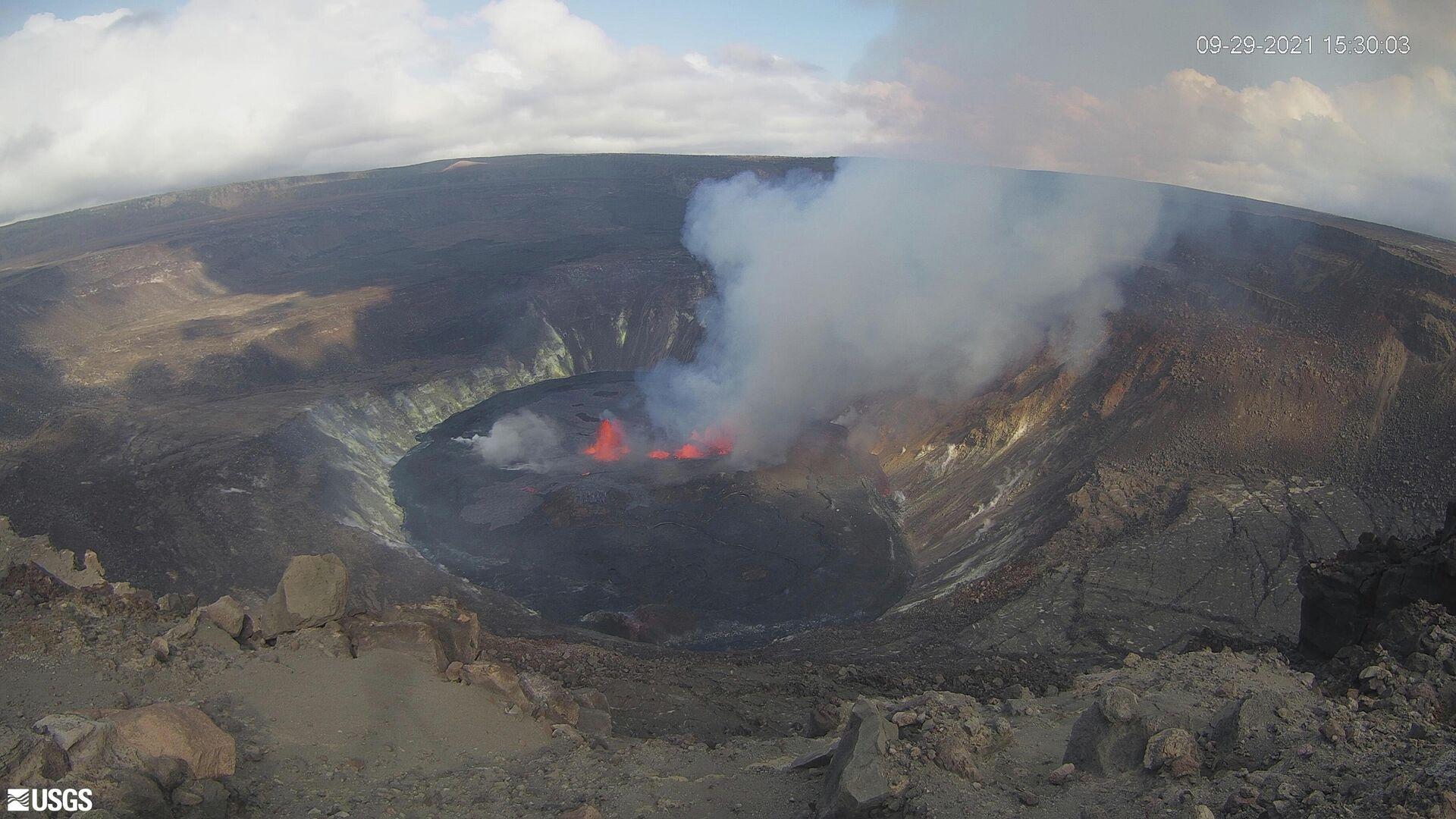 Erupción del volcán Kilauea en Hawái - Sputnik Mundo, 1920, 30.09.2021