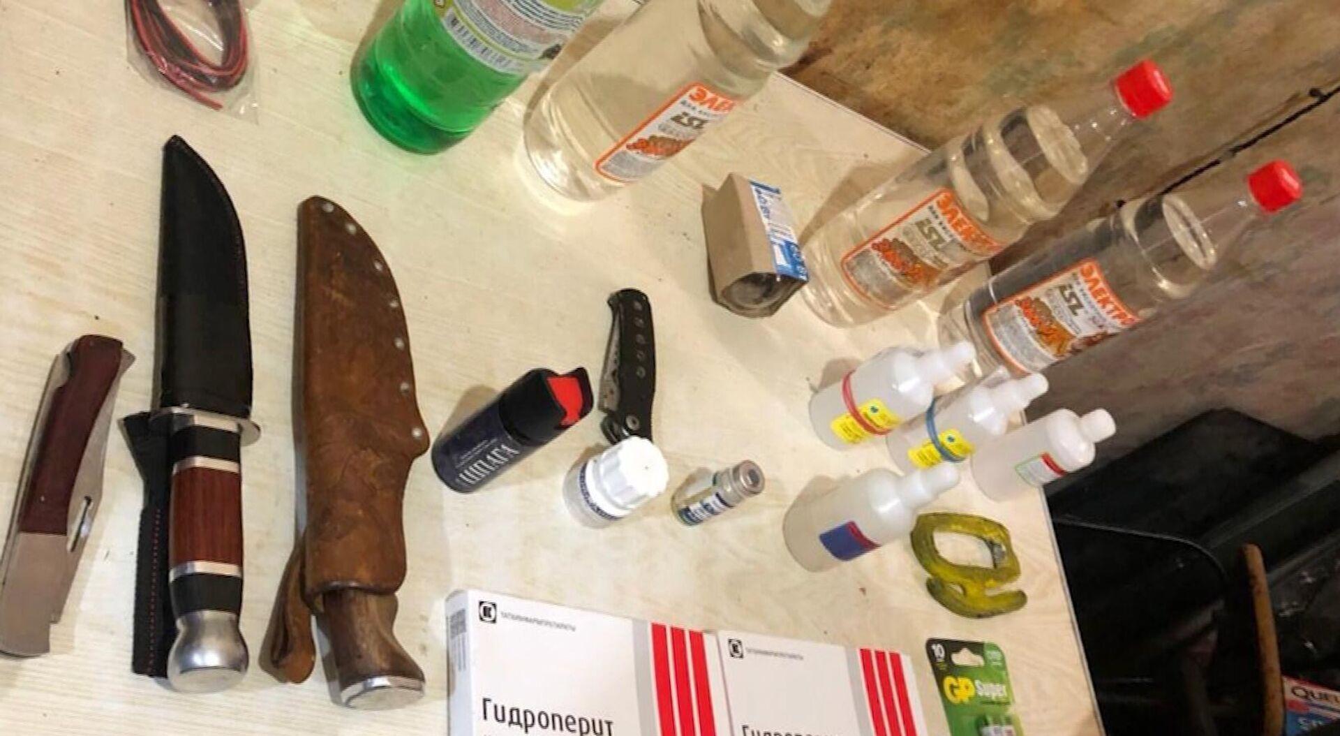 Los componentes para fabricar explosivos encontrados por el FSB en Vladivostok - Sputnik Mundo, 1920, 30.09.2021