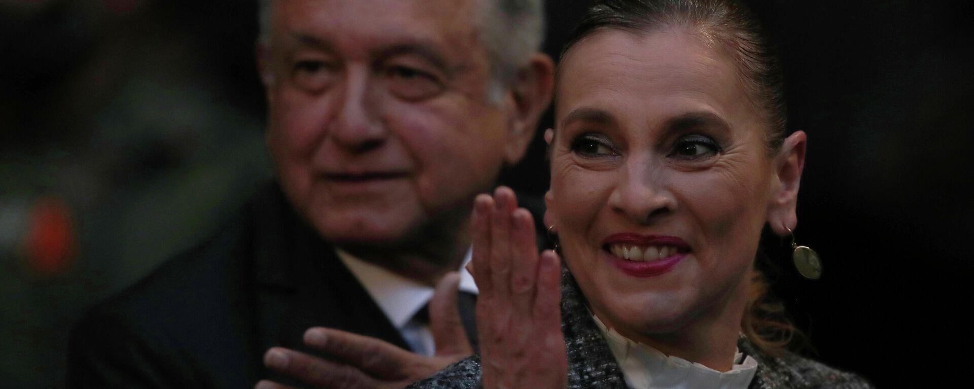 Beatriz Gutiérrez Müller, escritora y esposa del presidente Andrés Manuel López Obrador - Sputnik Mundo, 1920, 30.09.2021