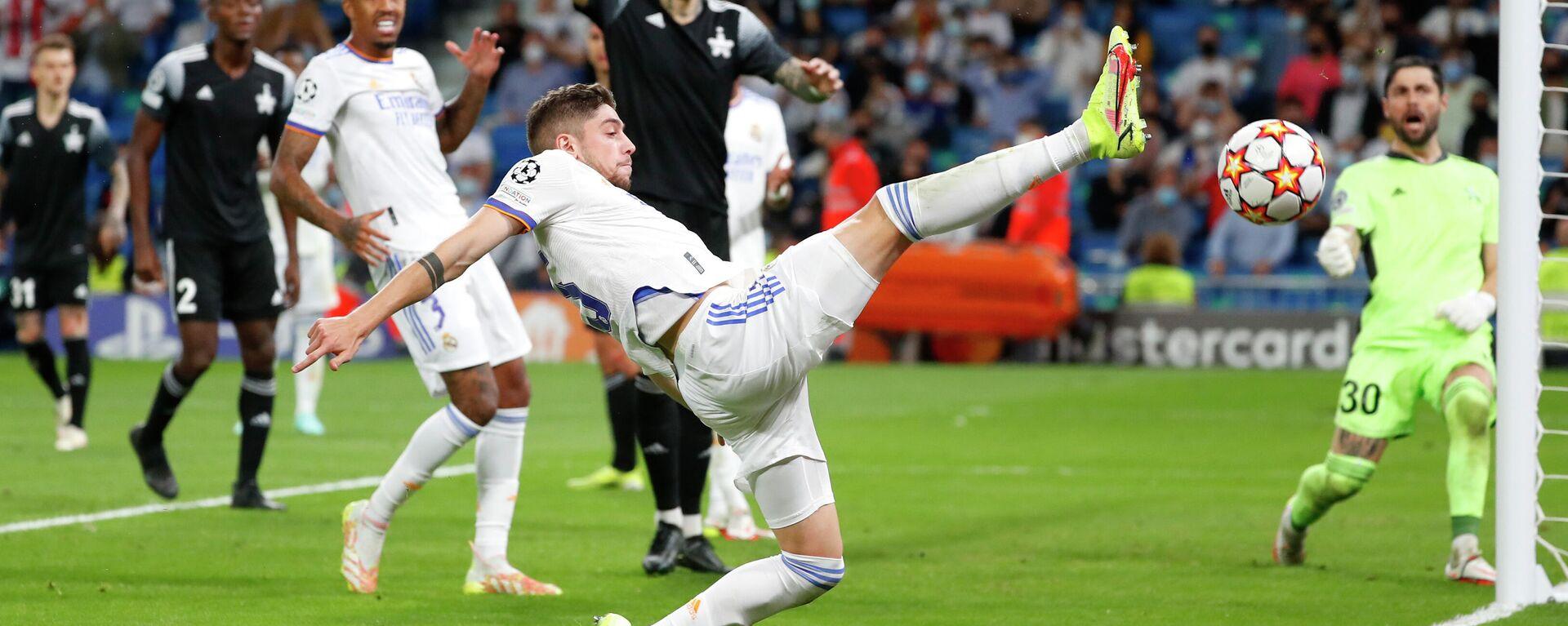 La Liga de Campeones, Real Madrid vs Sheriff Tiraspol - Sputnik Mundo, 1920, 30.09.2021