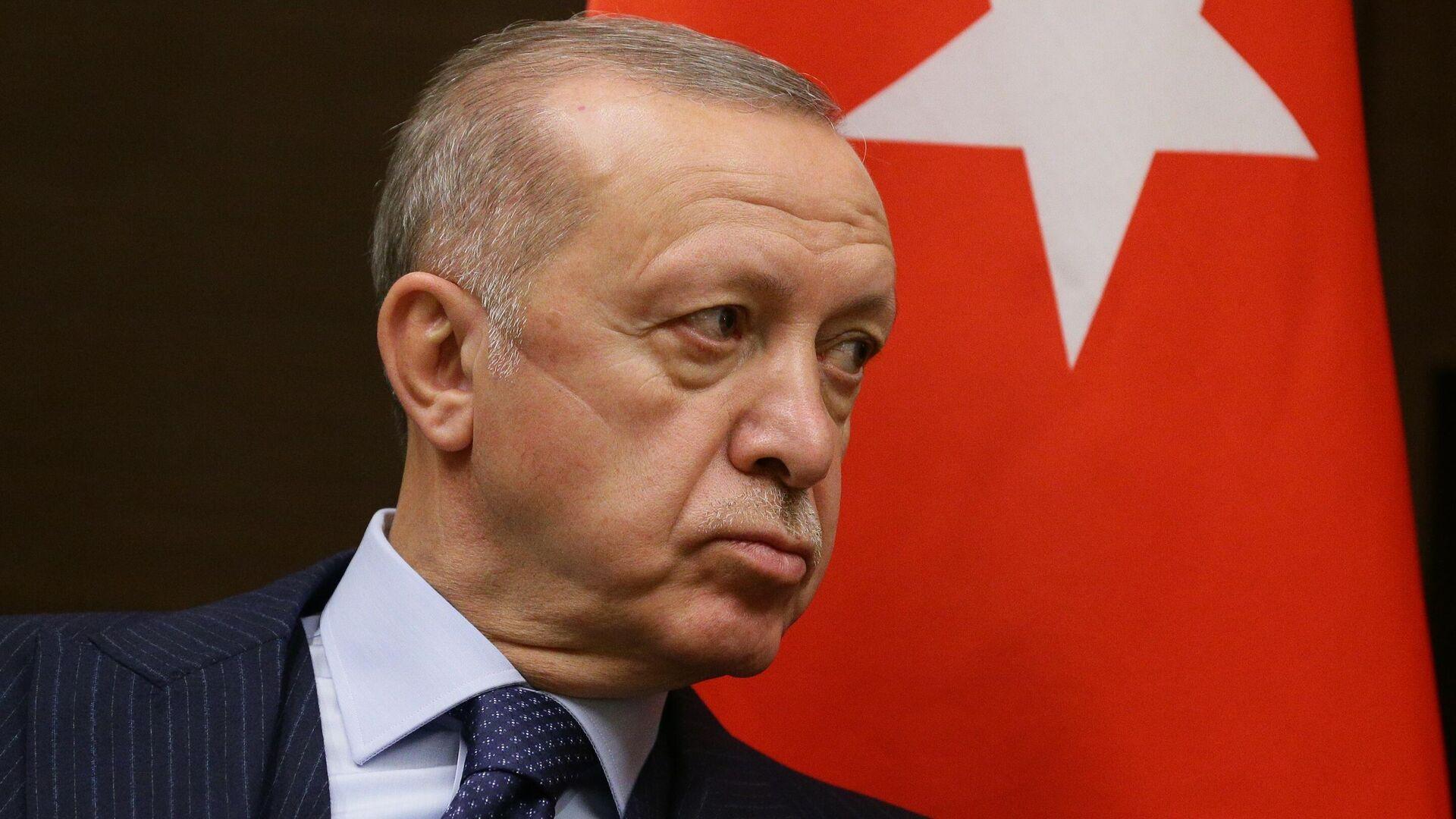El presidente turco, Recep Tayyip Erdogan - Sputnik Mundo, 1920, 30.09.2021