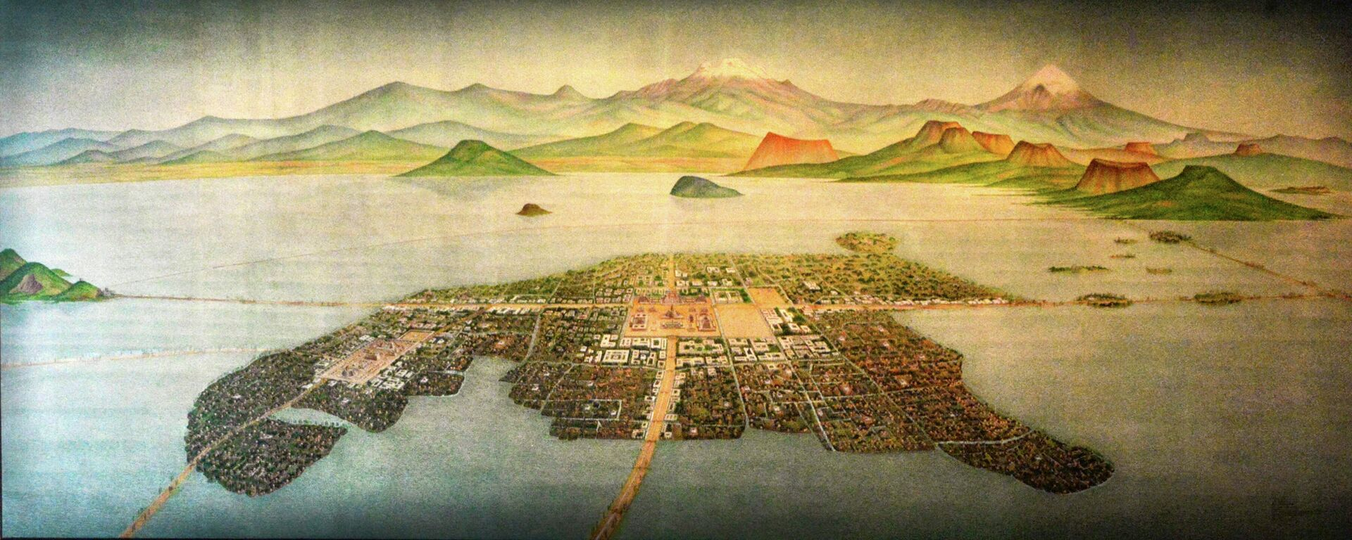 México-Tenochtitlán - Sputnik Mundo, 1920, 30.09.2021