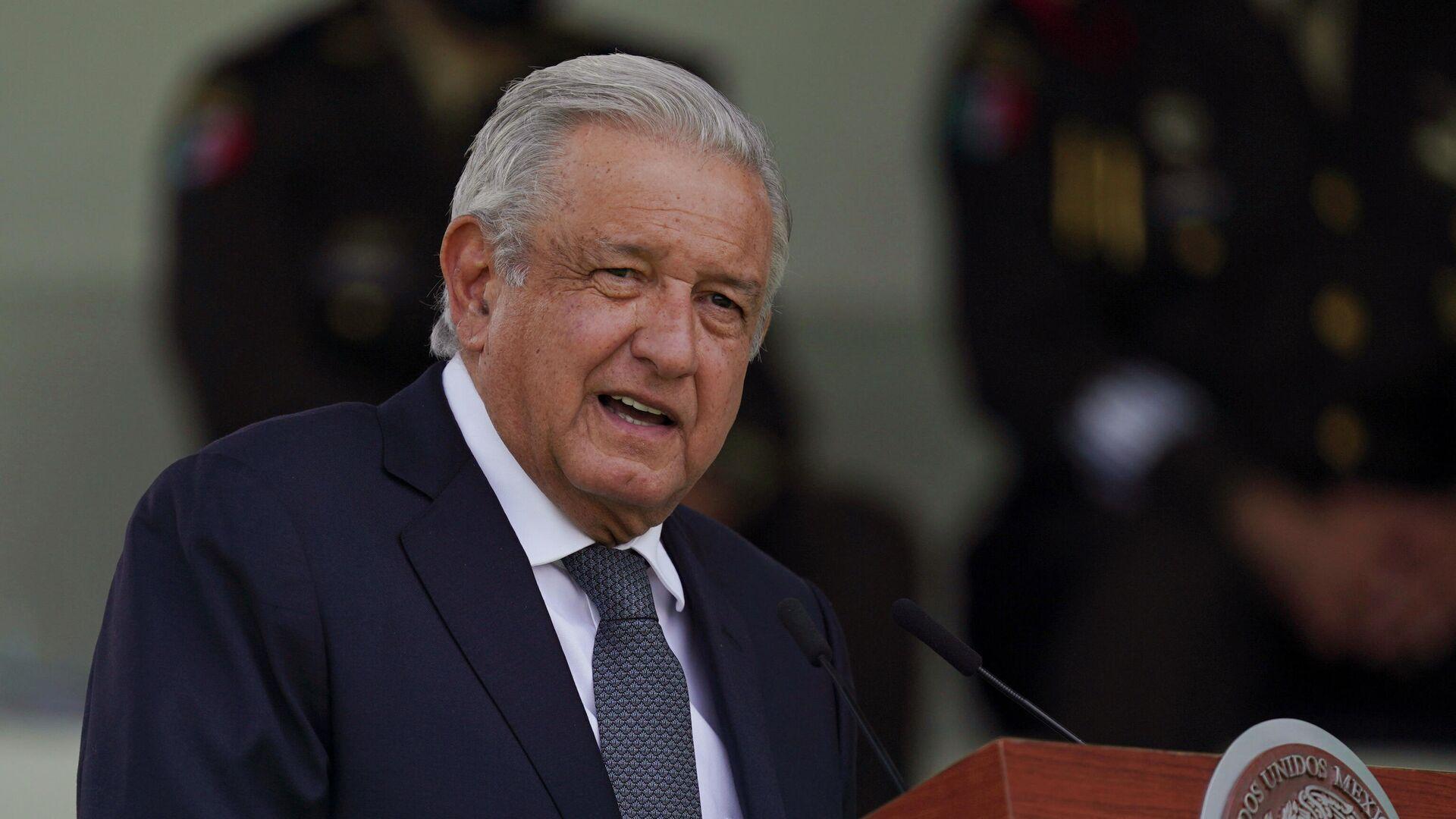 Andrés Manuel López Obrador, presidente de México, - Sputnik Mundo, 1920, 06.10.2021