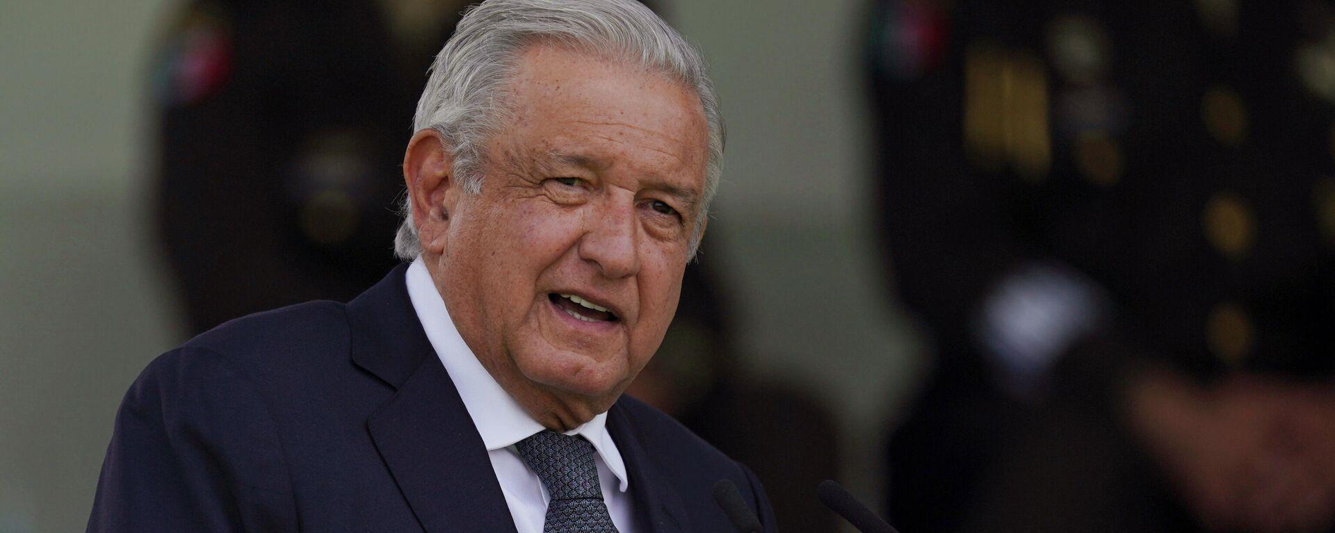 Andrés Manuel López Obrador, presidente de México, - Sputnik Mundo, 1920, 30.09.2021