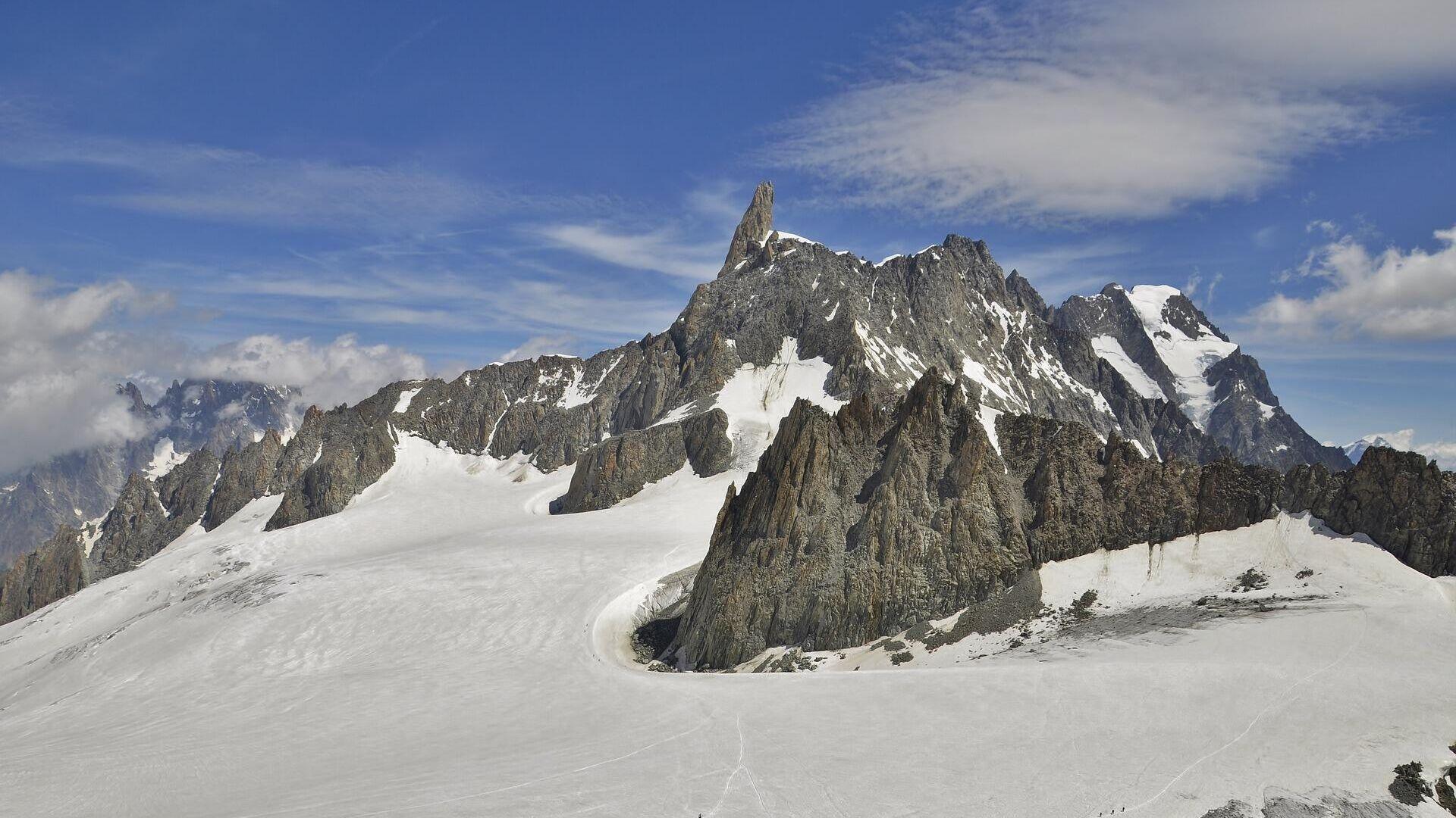 El Monte Blanco, la cima más alta de los Alpes - Sputnik Mundo, 1920, 30.09.2021