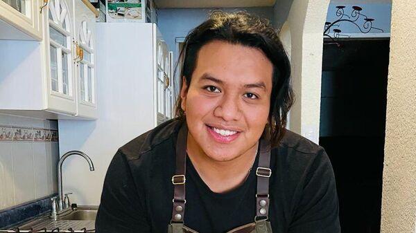 Brayan Arturo Pérez, chef mexicano - Sputnik Mundo