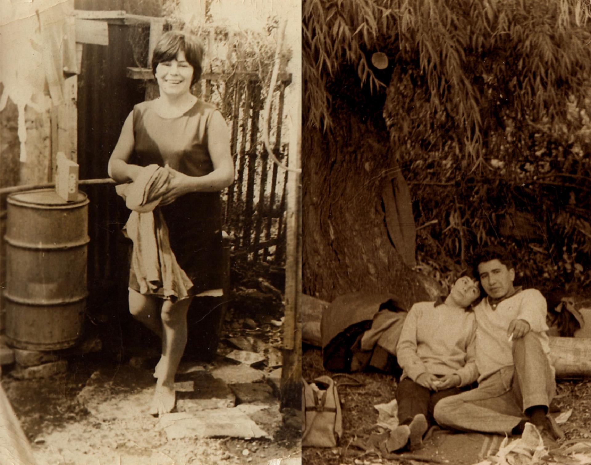 Alicia Lira en su población, y junto a su marido, Felipe Rivera - Sputnik Mundo, 1920, 30.09.2021