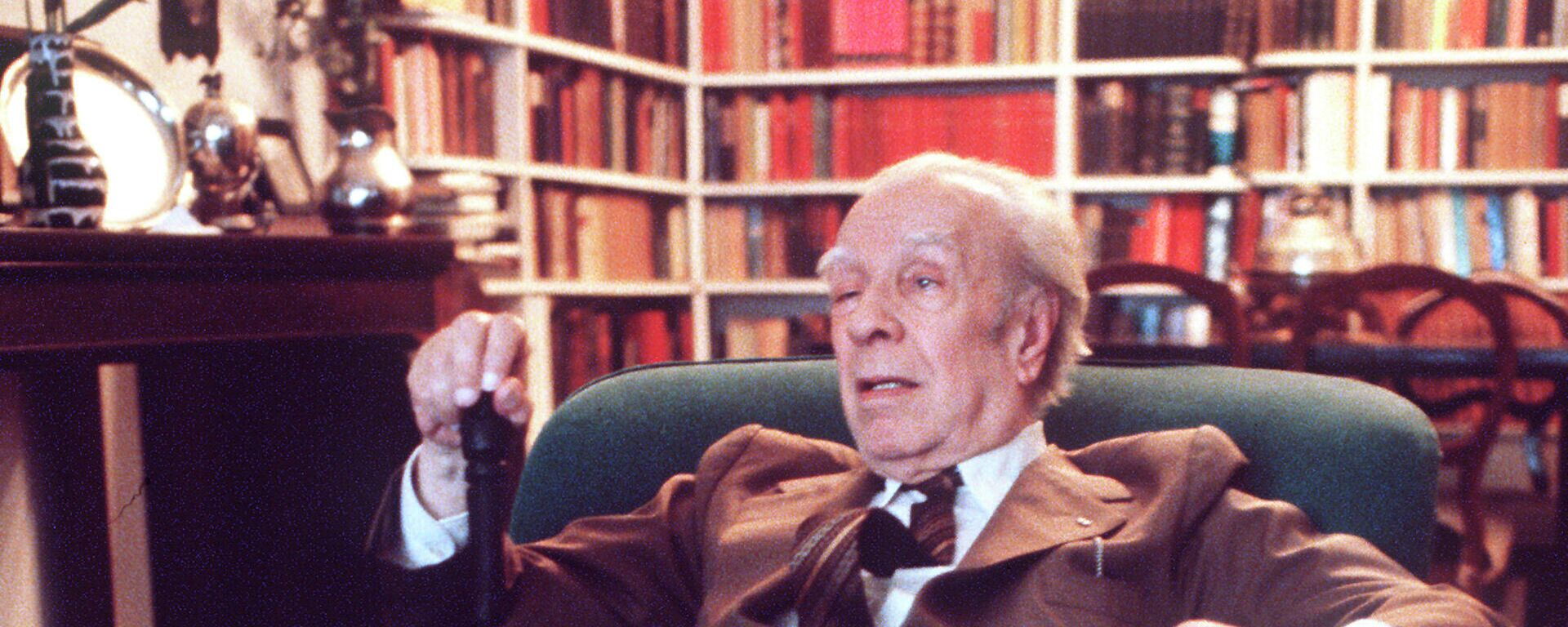 El escritor argentino Jorge Luis Borges (1899-1986) - Sputnik Mundo, 1920, 01.10.2021