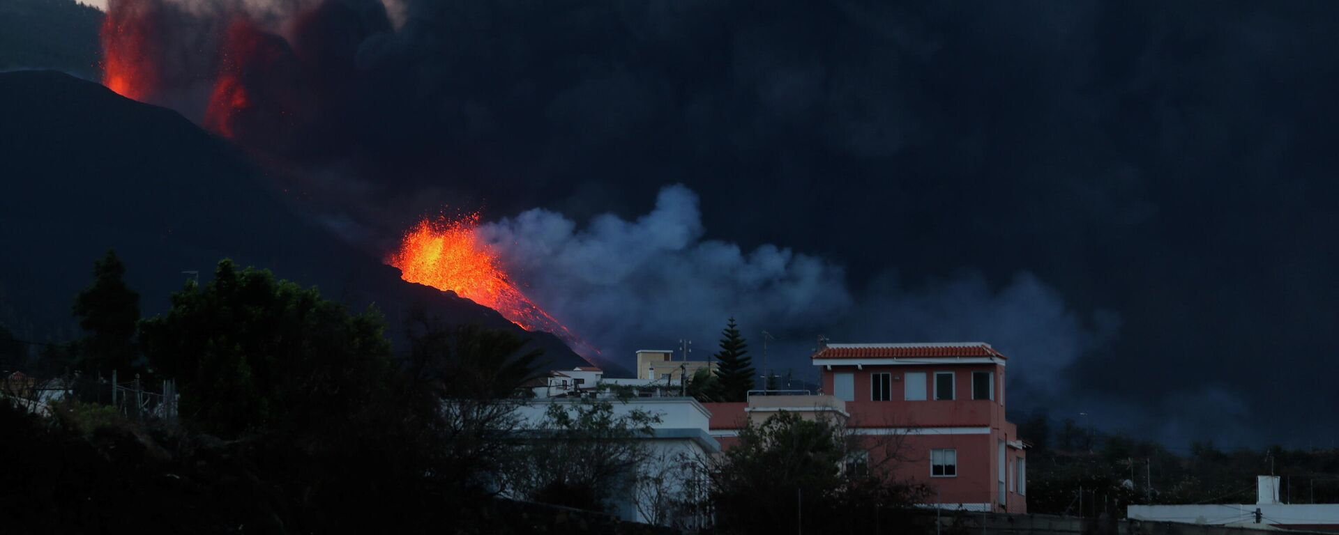 Erupción del volcán Cumbre Vieja en La Palma - Sputnik Mundo, 1920, 14.10.2021