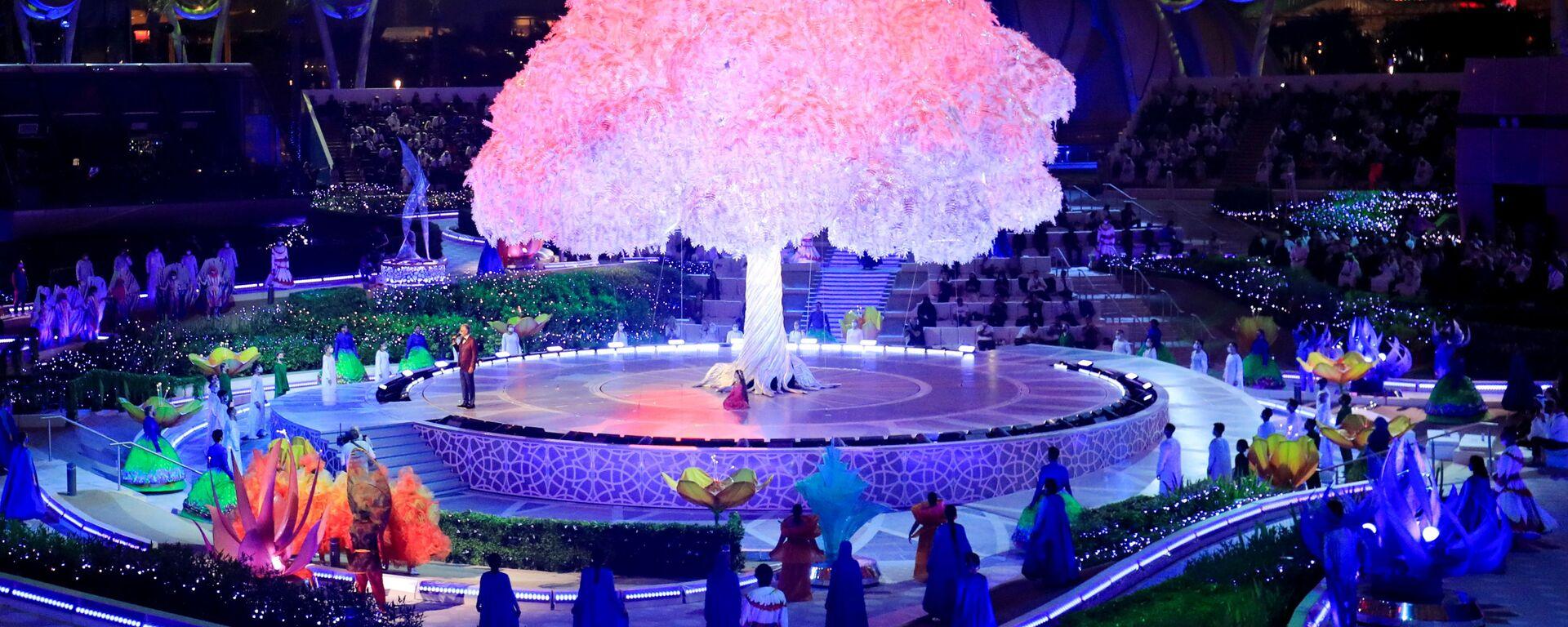 Церемония открытия Dubai Expo 2020 в ОАЭ - Sputnik Mundo, 1920, 01.10.2021